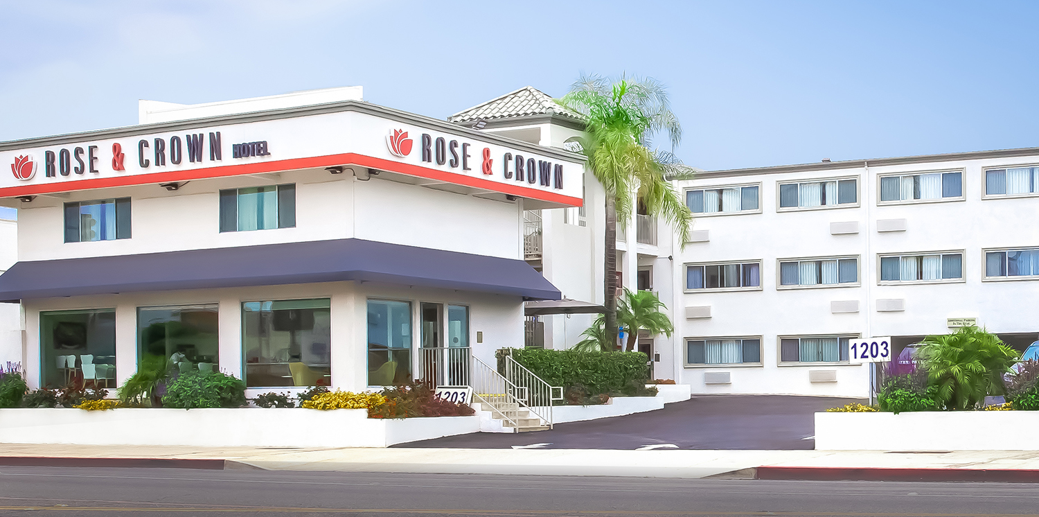 WELCOME TO THE PASADENA ROSE & CROWN HOTEL
