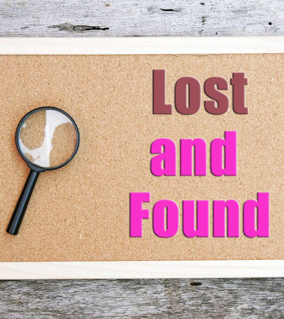 DIGITAL LOST & FOUND FOR  THE PASADENA ROSE & CROWN HOTEL